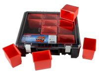 Faithfull 12 Compartment Plastic Organiser 15in